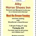 Alby Horseshoes – Meet the Brewer Evening – Friday 5th July 2013