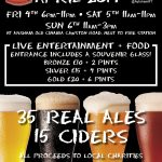 Aylsham round table beer festival 4th/5th/6th April