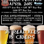 Dates, Opening Times and Prices for our 10th Beer Festival are Released