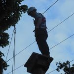 Aylsham RT takes to the high wires